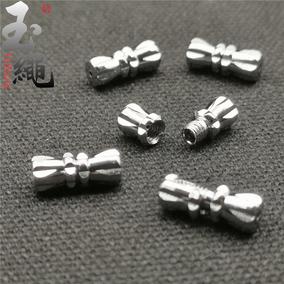 穿串珍珠项链扣螺丝扣子手链项链连接扣头手工diy配件收尾拧扣塔