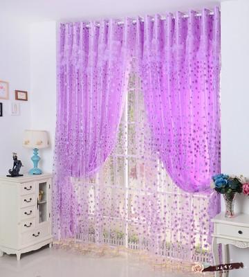 田园韩式卧室客厅高档遮光布碎花成品布艺窗帘布料定制特价包邮