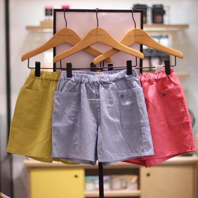 BLUEDOG韩国代购女童夏装2018新款儿童百搭休闲裤短裤