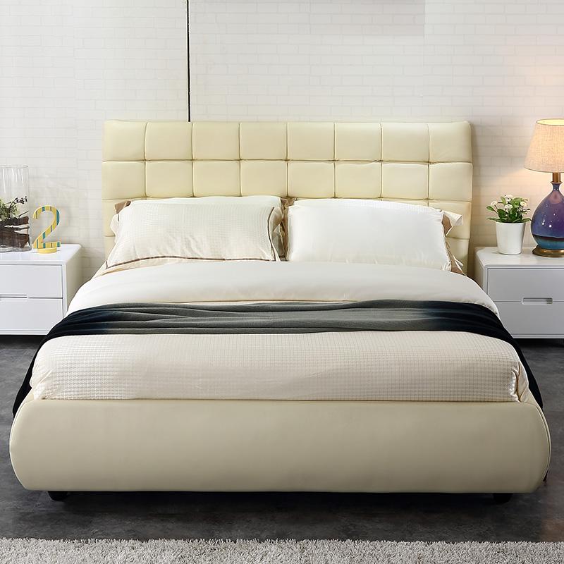 金海马小户型真皮软床