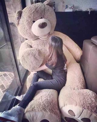 正版美国大熊毛绒玩具泰迪熊大号公仔抱抱熊情人节礼物女生布娃娃