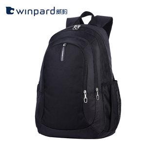 WINPARD/威豹双肩包男女三层学生书包旅行包韩版轻便中学生双背包