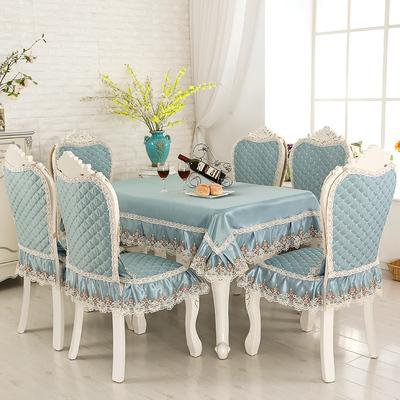 歐式餐桌墊套裝座椅套罩餐椅墊布藝坐墊防滑板凳套家用椅子墊座墊牌子口碑評測