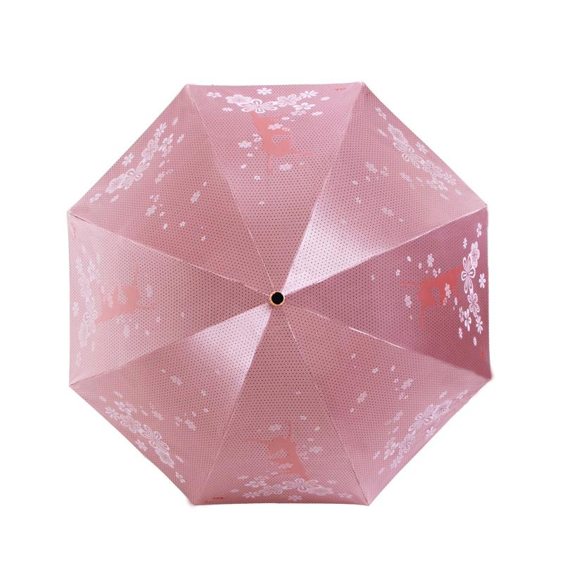 天堂伞官方遮阳伞天堂伞芭蕾舞者手动