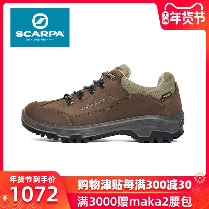 SCARPA/思卡帕Cyrus女款GTX防水耐磨低帮轻便登山徒步鞋30013-202