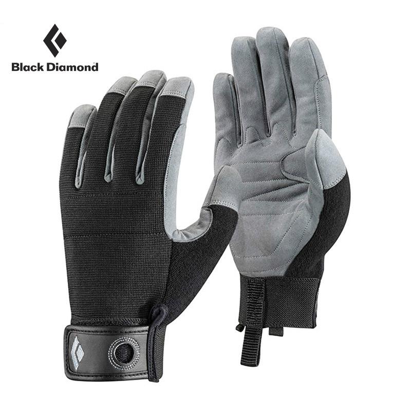 blackdiamond/黑钻crag glove户外透气耐磨全指攀岩手套801858