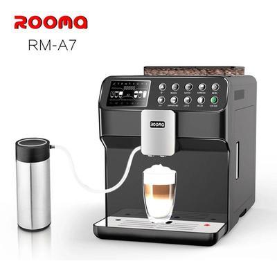 ROOMA 路瑪全自動咖啡機A7卡布基諾家用商用辦公室新品 包郵發票雙十一折扣