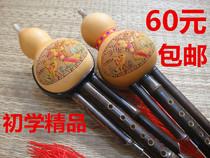 学生乐器大人演奏型紫竹云南滇南古韵葫芦丝五调套装