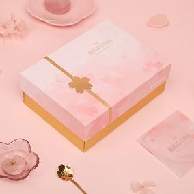 ZAA杂啊 漫舞樱花礼盒礼袋日式烫金浪漫优美大方包装袋包装盒