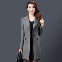 韩国韩版大衣羊毛
