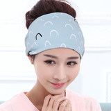 Do the moon hat pregnant woman hat headscarf autumn and winter cotton wind-proof hairband post-partum supplies fashion spring and summer thin money