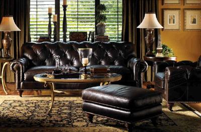欧式组合单双三人新古典后现代高档别墅皮艺沙发样板房家具可定制
