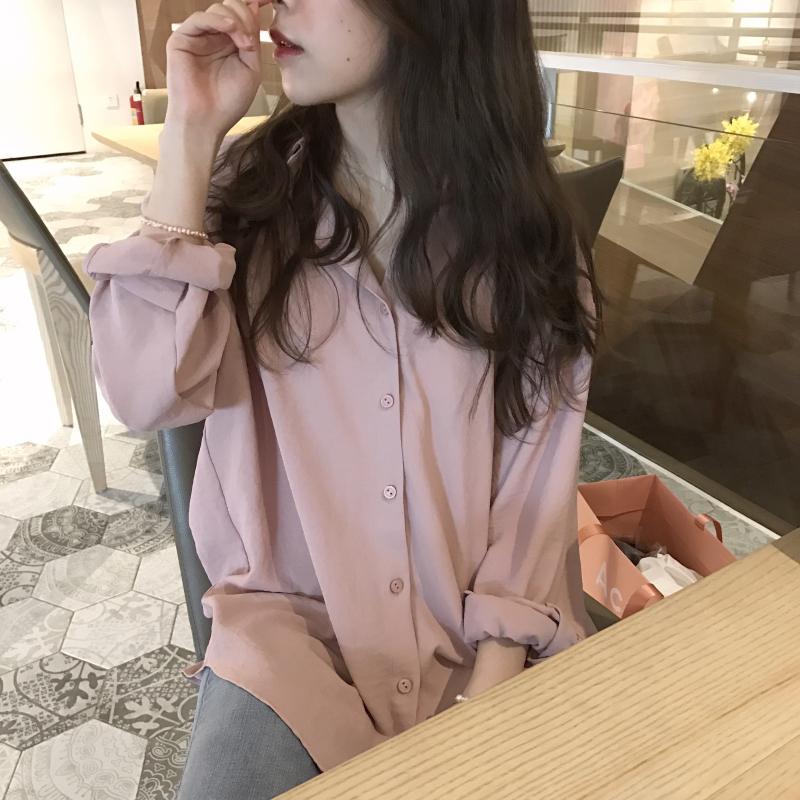 夏天韩版衬衫衬