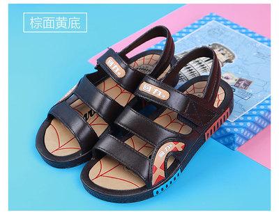 【天天特价】回力儿童凉鞋男童夏季沙滩防滑中小童软底塑胶童鞋