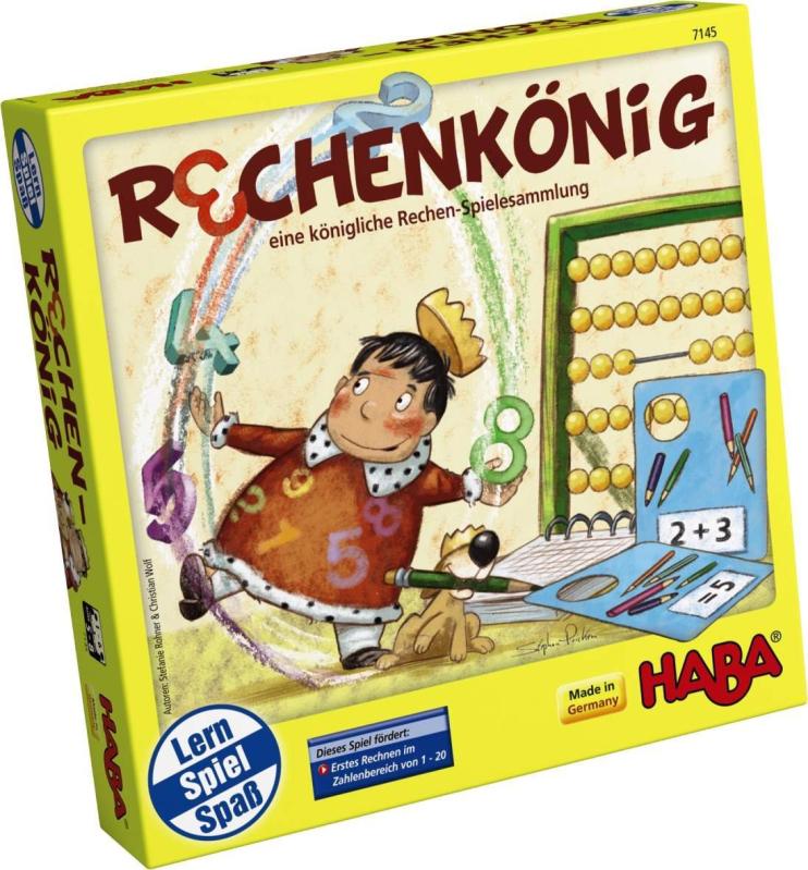 正品德国HABA原装进口儿童益智玩具逻辑思维桌游7145 数学之王