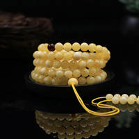 Binzi Jewelry Baltic Natural Amber Beeswax Men and Women Bracelet Bracelet Chicken Oil Huangyuan Stone Loose Pearl