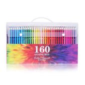 120色油性彩色铅笔绘画专业手绘160填色涂鸦初学者学生水溶性彩铅