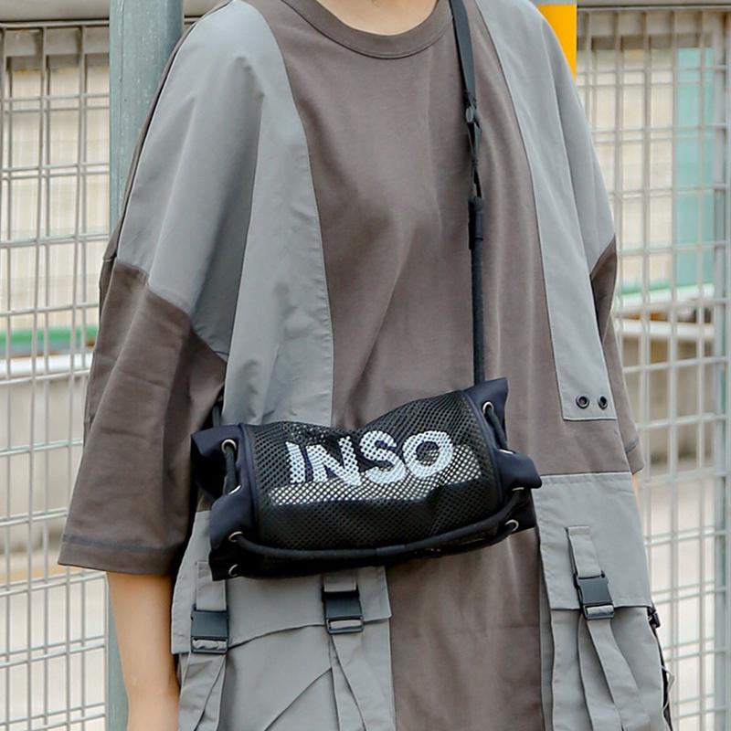 印树INSO时尚单肩网格包,100元以内好用礼物送闺蜜