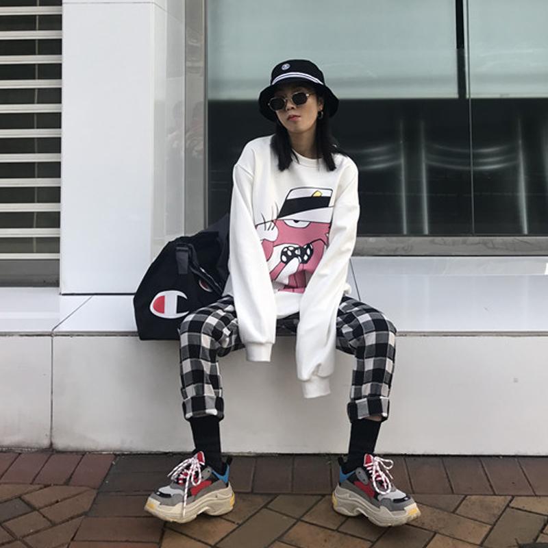 裤子女冬休闲裤百搭