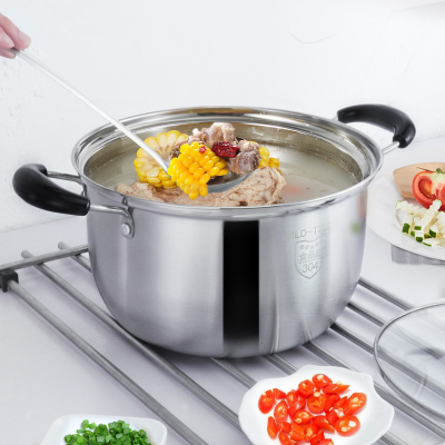 电磁炉汤锅加厚不锈钢