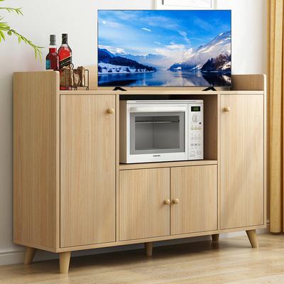 北欧小户型客厅电视桌背景柜子卧室高电视柜1米高左右加高款储物