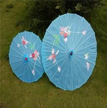 古典舞蹈道具雨伞幼儿童表演出绸布伞跳舞台吊顶装饰工艺竹伞