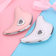 Dolphin micro-current scraping facial facial massager lifting firming electric rib plate beauty scraping instrument
