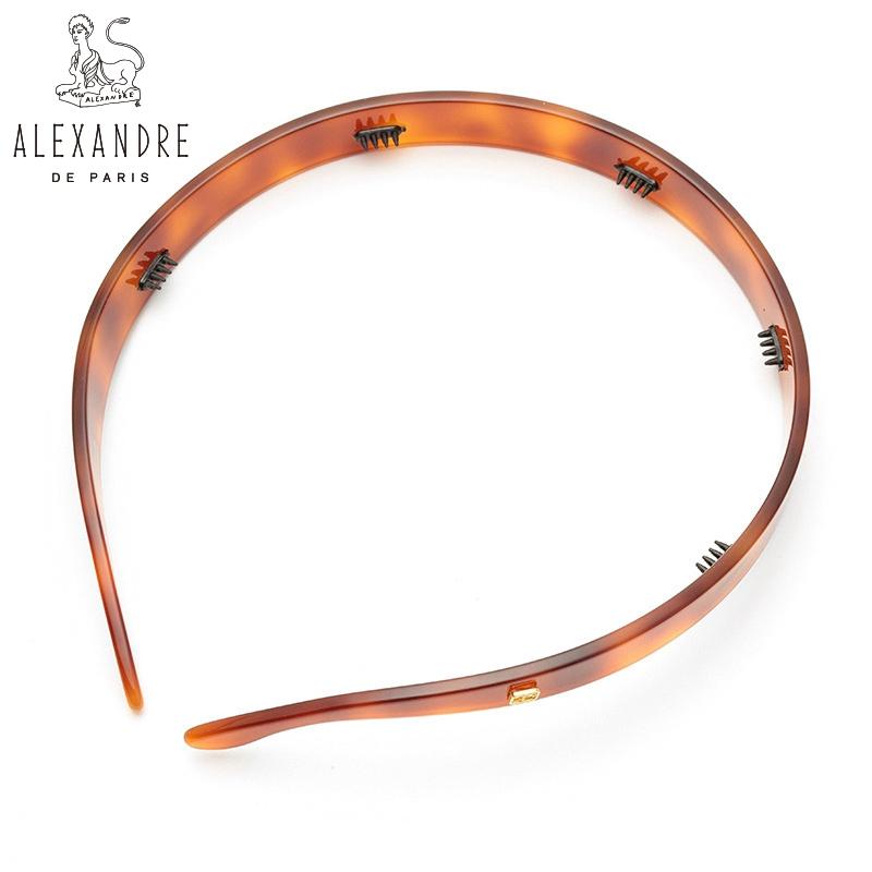 法国Alexandre De Paris亚历山大经典款简约压发头箍发箍发饰品