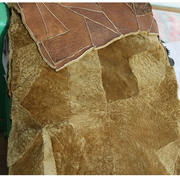 Super soft real wool fur one sheep shearing fabric clothes pants liner warm and comfortable leather grass fabric