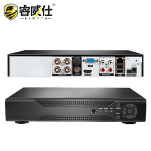 睿威仕AHD高清4路同轴硬盘录像机手机远程刻录机8/16监控家用主机