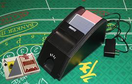 【睿腾】2副洗牌机发牌机二合一 洗发一体扑克机洗牌器发牌器图片