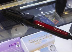 松下卷发器EH-HT40直发器卷发棒卷发梳烫发器美发器Bob波波头