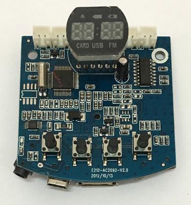mp3解码板usb插卡播放器 收音机数字功放板模块电子diy小制作套件