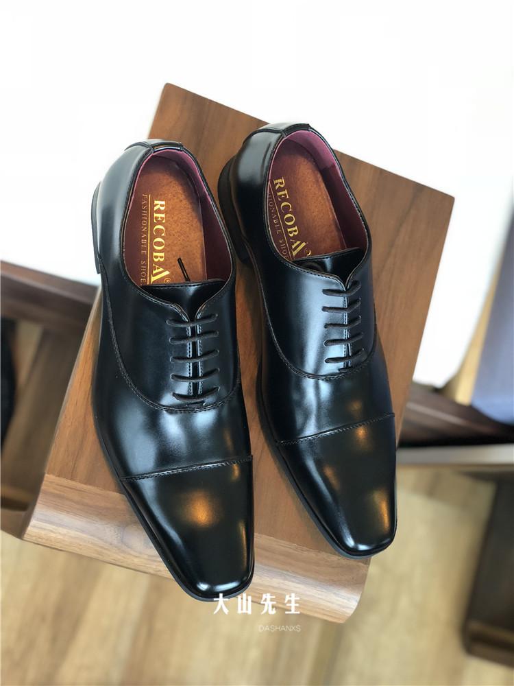 大山先生正装皮鞋日本男士结婚男鞋欧版三接头商务工作上班皮鞋男
