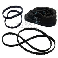 XL rubber timing belt 82-300XL width 10mm toothed open belt mechanical gear synchronous transmission belt customized
