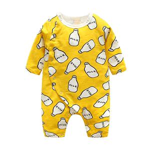 优儿岚婴儿连体衣春秋新生儿哈衣爬服装夏季婴儿衣服男女宝宝夏装