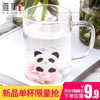 小熊杯玻璃杯