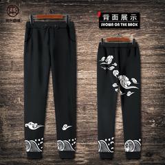 民族风运动裤