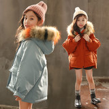 Girls'Cotton-padded Clothes 2019 New Bread Clothes Short Winter Clothes Chinese Boys' Korean Edition Outerwear Girls'Westernized Down Cotton-padded Clothes