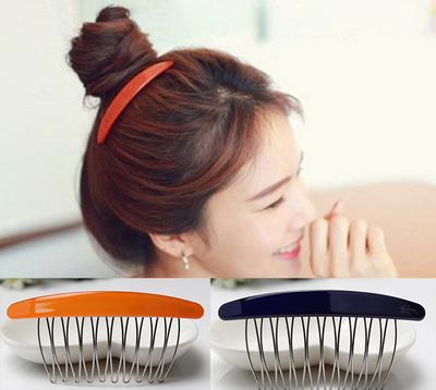亚克力发梳发卡发夹插梳刘海梳发插成人头饰发饰韩国盘发小饰品女