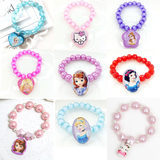 KT cat Minnie Ice AiSha Sufi Princess Cartoon Girl Girl Pendant Bracelet Baby Pony Bracelet Hoops