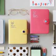 Korean stationery Smiley smiley buckle 2019 diary 396 days schedule this notebook handbook