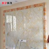 饰边框线条10cm 石塑仿大理石门套窗套线条瓷砖腰线电视背景墙装图片