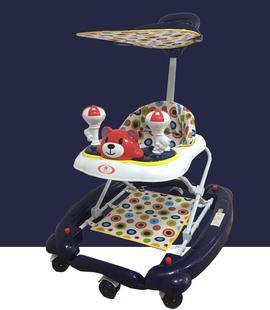 正品包邮好孩子婴儿宝宝6/7-18个月学步车滑行车带音乐刹车餐桌