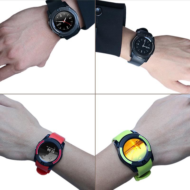 圆屏智能手表成人学生电话手机适用小米三星oppo华为联想vivo插卡