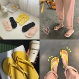 人字拖女2018新款夏时尚外穿百搭凉拖平底韩版学生夹脚沙滩拖鞋女