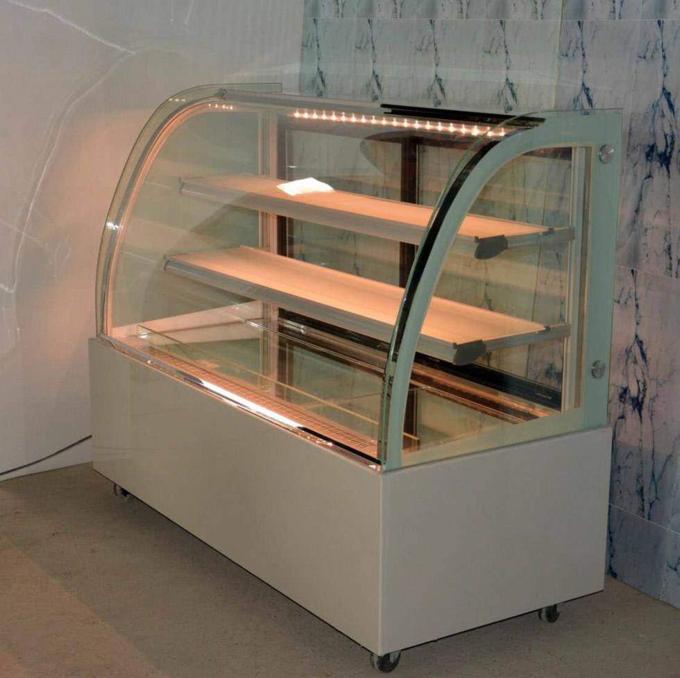 蛋糕柜冷 藏柜蛋糕展示柜0.9米台式弧形保鲜柜熟食柜水果制冷展柜
