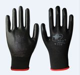 12 pairs of stars Yuhong Hongyu N539 Dingqing dipped protective gloves mechanical wear-resistant oil resistant gloves