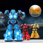 機神獸人拳擊機器人大型變型小孩4-6大對打智能遙控玩具汽車