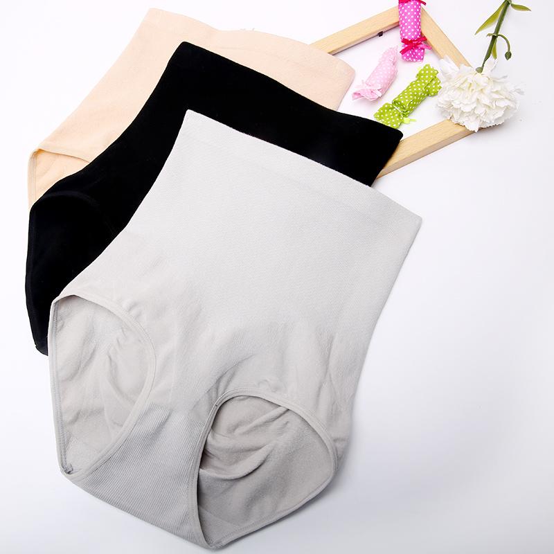 北极绒女士高腰收腹裤塑身塑腰束身束腰提臀产后裤头三角裤性感夏